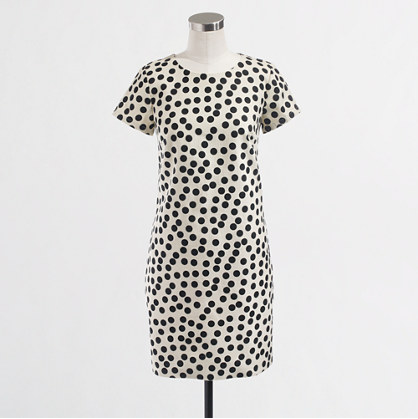 J.Crew Factory Optic Dot Dress  A0116