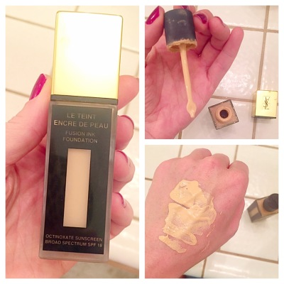 YSL Yves Saint Laurent Fusion Ink Foundation Le Teint Encre de Peau B10 Porcelain