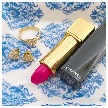 Chanel Rouge Allure lipstick in 93 Exaltee