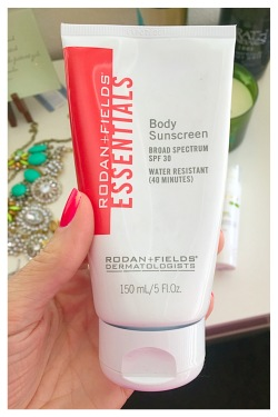 Rodan and Fields Essentials Broad Spectrum SPF 30 Body Sunscreen