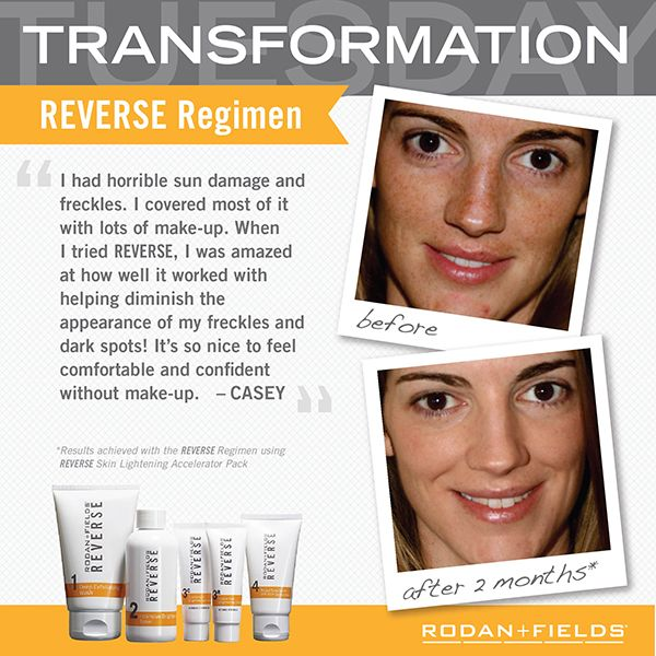 Transformation Reverse Before + After